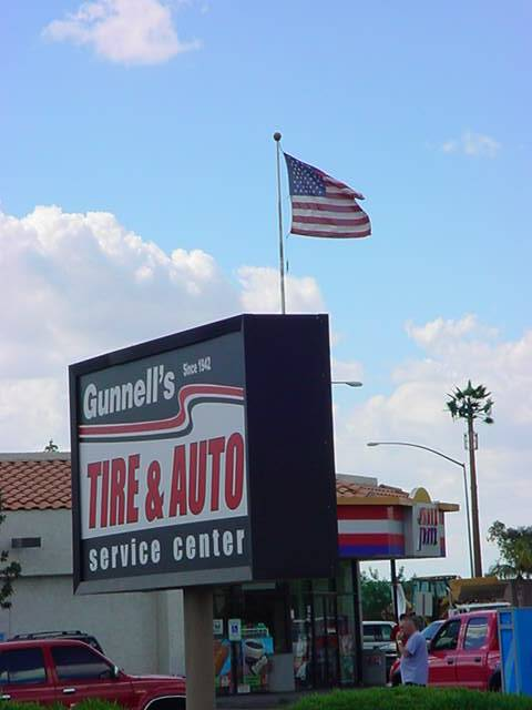The History of <br>Gunnell's Tire business<br>< < < brothers > > >