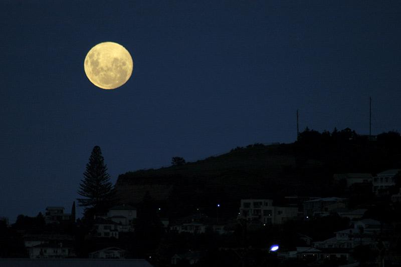 Full Moon Rising over Napier Hill