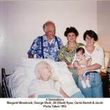 5 Generations - Aunt Margaret, George etc.