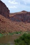 Rafting down the Colorado