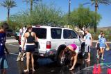 Cross Country Team holds a Car Wash