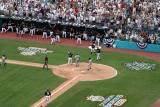 Pudge scores, D Lee scores ; 2003 Division Playoffs vs Giants (Game 4)