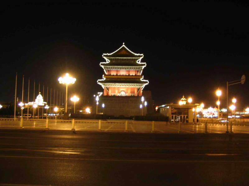 Tiananmen and area night photos