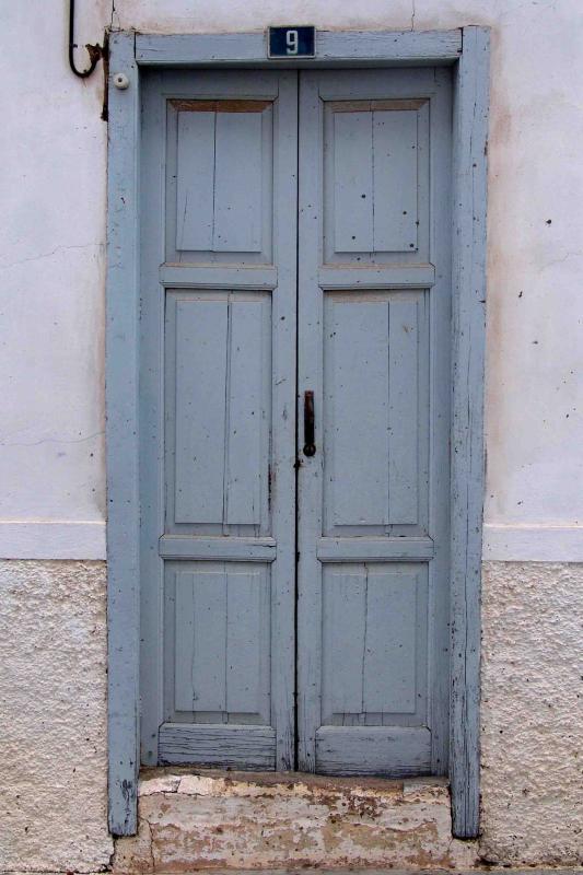 Light blue door, nr 9
