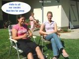 0-Ixchel and Amy greets us.