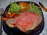 rib roast served 4