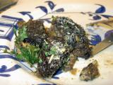 sauteed morels with parsley and parmesan cheese
