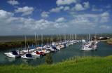 Yachts at Newhaven