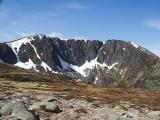 Lochnagar from below Meikle Pap