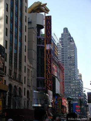 Madame Tussaud's Marquee