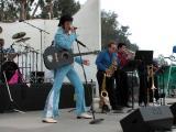 Elvis impersonator Raymond Michael at the California Strawberry Festival in Oxnard, CA