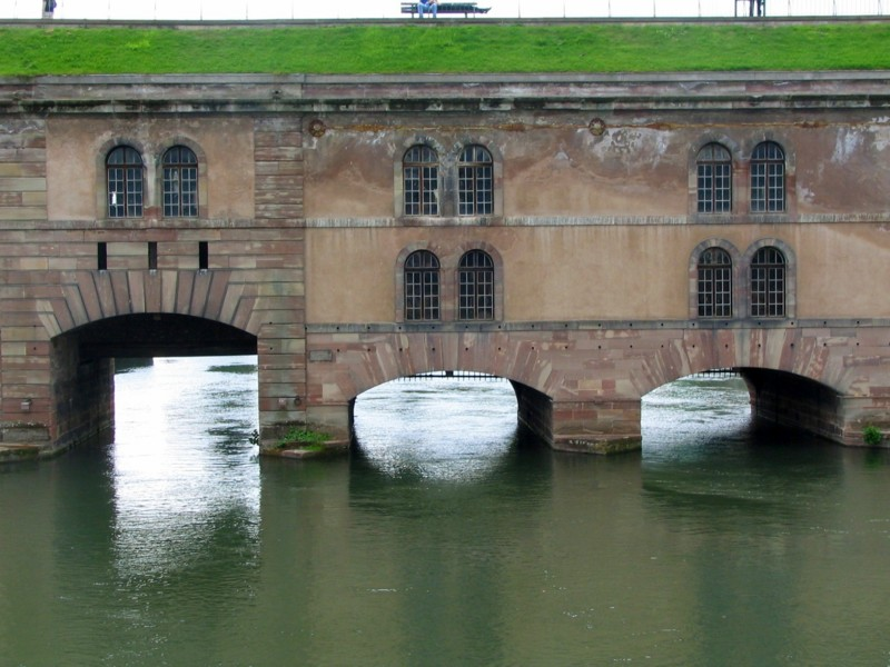 barrage  Vauban  , Strasbourg