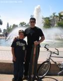 My Son and I at Balboa Park on a beautiful Sunday afternoon May 1st 2005