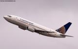 Continental Airlines B737-3T0 N17316 aviation stock photo