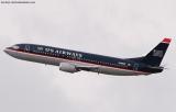 US Airways B737-401 N420US aviation stock photo