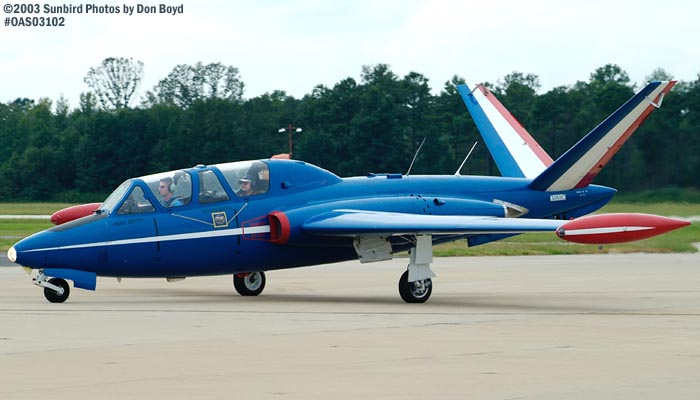 Over Head Productions Incs Fouga CM Magister N908DM aviation stock photo #6962