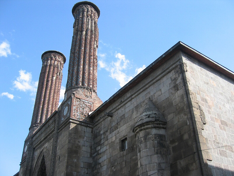 From the Selcuk ( Seljuk ) period,<br>the blue tiles are striking.