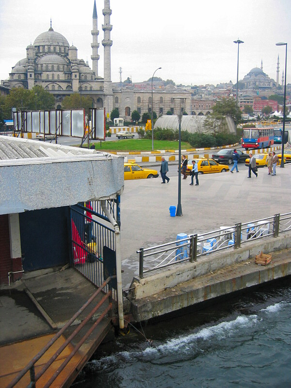 Boarding ferry from Istanbul on the amazing $3<br> ride at 10:150am  (6 hrs w/ lunchbreak)