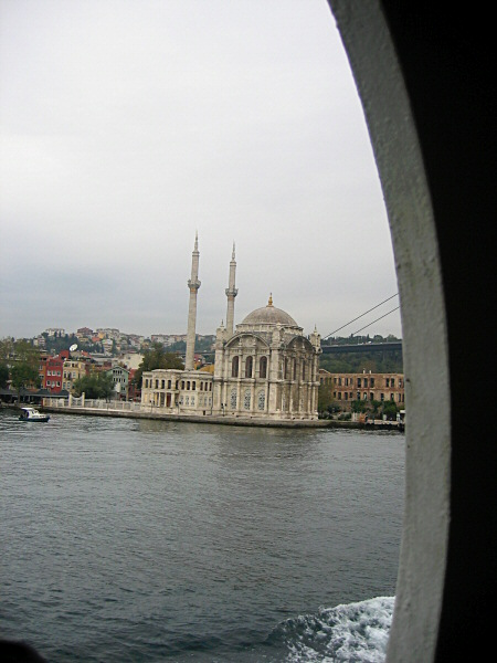 Passing Ortakoy Mosque