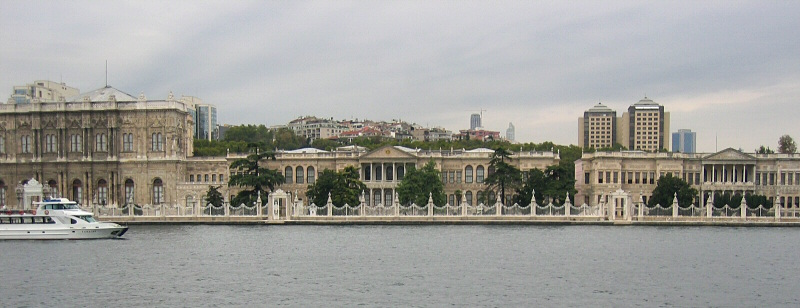 Dolmabahce Palace   (Didnt get to visit it !)