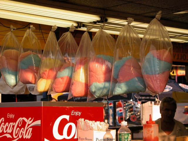 Cotton Candy iN Coney Island