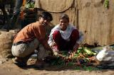 Vegetable seller, Gwalior