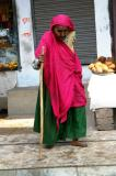 Old woman in Gwalior
