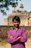 Boy in purple, Gwalior Fort, India