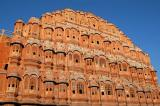 Hawa Mahal, or Palace of the Winds, built in 1799