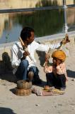 Snake Charmer and son