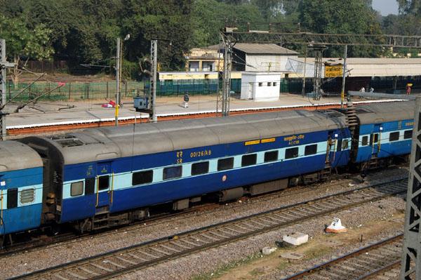 Indian Railways Air Con Sleeper rail car