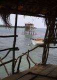 The original Pelican Bar - pre-Hurricane Ivan
