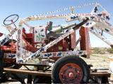 Tractor Folk Art