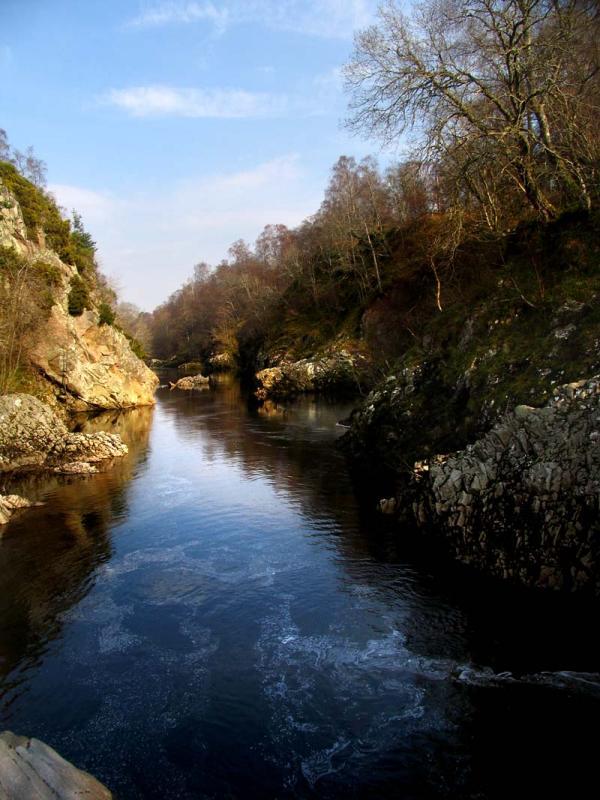 River Findhorn at Dulsie Bridge