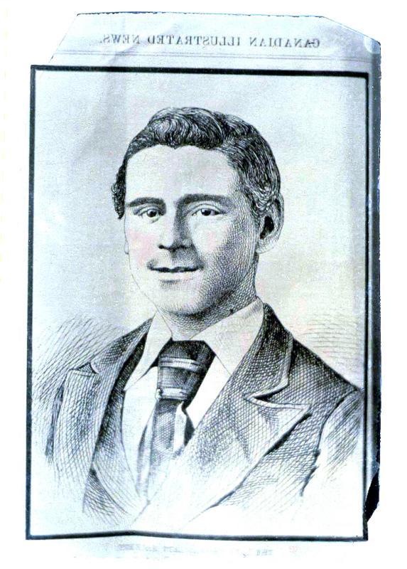 Thomas Lett Hackett - Murdered, 1877 -  (#35)