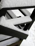 Snowy Deck Rail