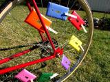 Bicycle of many colors