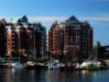 Harbor at Victoria Island, Canada