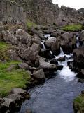 Stream in Pingvellir National park