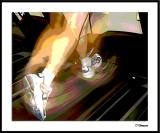 12/30/04 - Treadmill Action (Posterized)