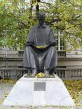 Tesla's statue
