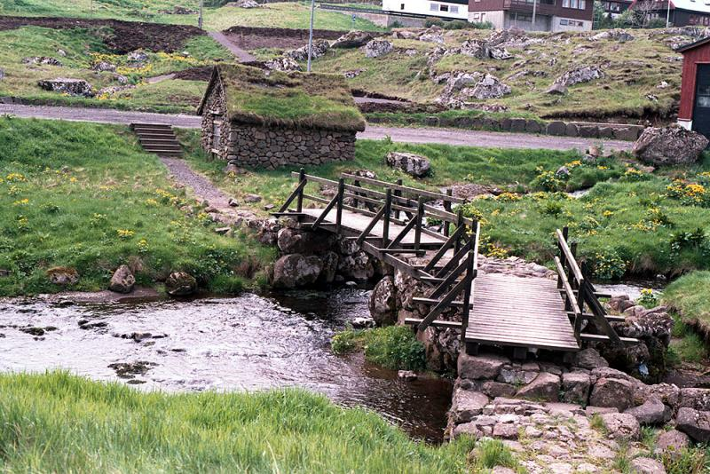 Bridge connecting Argir and Torshavn
