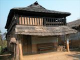 Tharu village, Terai