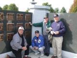 Left to right: Warren bishop, Jack Hayslett, George Phillips and Dave Jordan