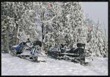 Ski Patrol Snowmobiles