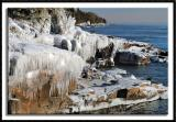 Ice Laden Shoreline
