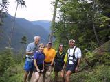 Self-timer shot - On the climb up to Fawn Ridge