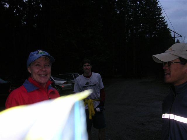 Lynn, Kerby & Carols friend<br>High Point Parking Lot</br><br>&copy; CP</br>
