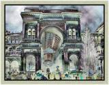 At the Piazza del Duomo Blues