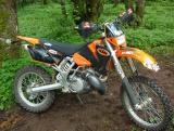KTM 300MXC with Red #3, #162MJ